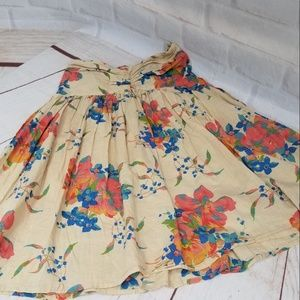 Atmosphere Cotton Flowered Skirt